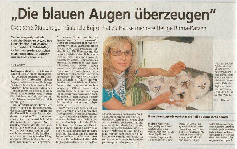 Zeitungsartikel 29.09.12
